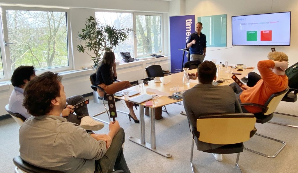 Workshop Content Strategie Time to Hire